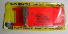New Gary Roach Mr. Walleye Board Church Tackle Co.