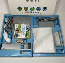 Nintendo Wii Bundle Complete In Box Sports White RVL-001 With Wii Sports Game