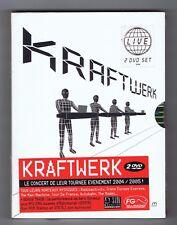 2 DVD SET (NEW) KRAFTWERK MINIMUM MAXIMUM