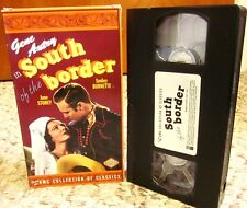 GENE AUTRY western South of Border 1939 June Storey VHS Lupita Tovar oil Mexico