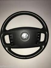 VW TOUAREG 2003-2010 4 SPOKE MULTI-FUNCTION STEERING WHEEL WITH AIRBAG