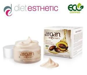 DIET ESTHETIC Anti-Age Argan Oil Face Cream 50 ml. Eco Certified
