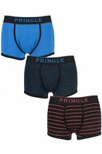 Cotton Men's Striped Underwear Boxer Trunks Multipack