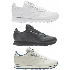 Reebok Damen Schuhe Classic Leather Leder Sneaker Freizeitschuh weiß [2232]