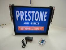 Prestone Anti-freeze LED Display light sign box