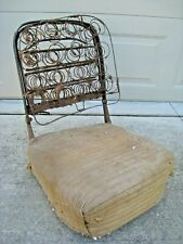 Original 1928-31 Ford Model A 2-door Sedan Front Bucket Seat Frame & Springs OEM