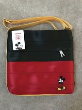Harveys Seatbelt Bags Colorblock Mickey Streamline crossbody NWT HTF