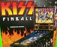 Kiss Premium Pinball FLYER 2015 Original NOS Glam Rock & Roll Art Print Stern