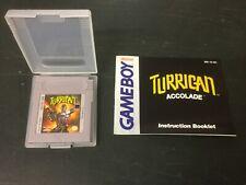 Nintendo Gameboy Turrican mit Anleitung vintage
