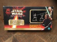 Hasbro Star Wars Episode I Clash Of The Lightsabers Card Game Action Figure