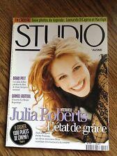 Studio Magazine n° 125 - Julia Roberts - Brad Pitt - Daniel Auteuil (7 & 8/97)