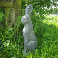 Vintage Mad March Hare Rabbit Garden Statue Ornament Resin Animal Sculpture Gift