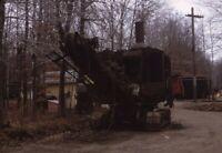Unidentified Steam Engine Shovel Original 1967 Photo Slide