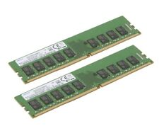 32gb Samsung 2x 16gb ddr4 ECC UDIMM RAM 2400mhz F. HP ProLiant MicroServer gen10