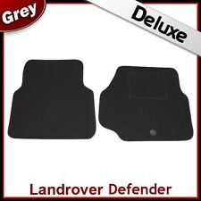 Landrover Defender 1990 1991 1992 1993...2006 Tailored LUXURY 1300g Car Mat GREY