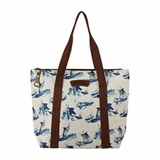 Margaritaville AUTHENTIC Insulated Chill Travel Tote Blue Marlin Print - *NEW