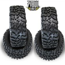 "PitBull Rock Beast Xl Scale 3.8"" Rock Crawler Tires Zuper Duper (4) Yeti Xl"
