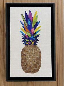 Jonathan Adler Beaded Pineapple Artwork RRP £795