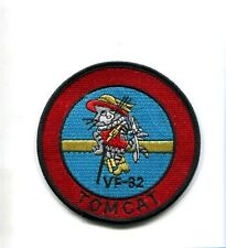 "VF-32 SWORDSMEN US NAVY GRUMMAN F-14 TOMCAT FIGHTER SQUADRON 3.5"" PATCH"