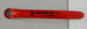 Knipex 98-01-16 Insulated 16mm Box Wrench
