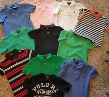 Polo 4t huge lot! All colors solids and stripes  all size 4t all ralph Lauren 11
