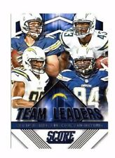 San Diego Chargers 2015 Panini Score, Team Leaders !! Philip Rivers !!