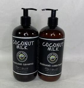 2 Renpure Professional Coconut Milk Nourishing Shampoo 16 Fl. Oz.