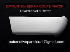 Datsun 120Y/ B210 COUPE /HATCH/SEDAN Lower Rear  Quarter Rust Repair Panel Left