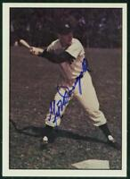 Original Autograph of Gil McDougald of the New York Yankees on a 1979 TCMA Card