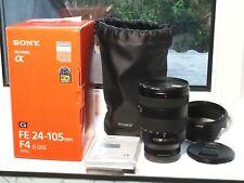 Sony FE 24-105 mm f/4 G OSS Lens MINT little used