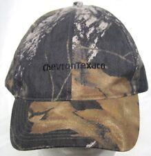 ecdc4800bbe NWOT Chevron Texaco Camo Strapback Cap - Gas Station Employee Uniform Hat 1  Size