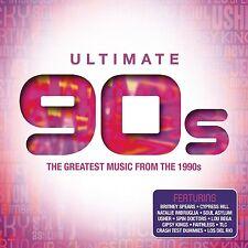 ULTIMATE...90S - BACKSTREET BOYS/BRITNEY SPEARS/WHITNEY HOUSTON/+  4 CD NEU