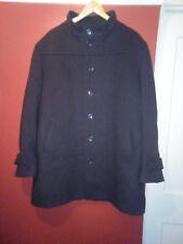 "gents jaeger coat brown wool superb large 50"" chest quality coat"