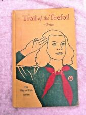 TRAIL of the TREFOIL Edith Ballinger Price 1941 Girl Scout Non-Fictn Story BOOK