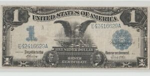1899 $1.00 Dollar Silver Certificate