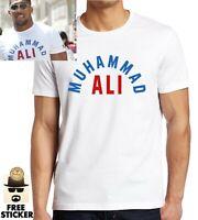 Muhammad Ali T shirt Boxing Legend Anthony Joshua Inspired Mens Gym Training Tee