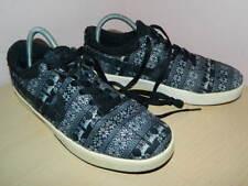 mens Nike Lunarlon black mix textile lace up trainers uk 6 eur 40
