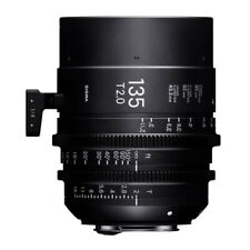 New listing Sigma 135mm T2 Ff High Speed Prime Lens for Sony E Mount