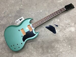 2019 Gibson SG Special Exclusive Electric Guitar Husk Inverness Green Repaired