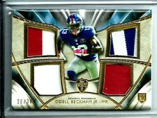 2014 Topps Supreme Multi Color Quad Rookie Odell Beckham Jr.D # 26/36 N.Y.Giants