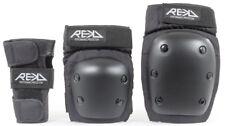 REKD Adult Heavy Duty Triple Padset - Black Extra Large