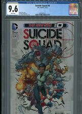 Suicide Squad #0   (New 52)  CGC 9.6  White Pages