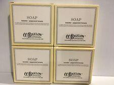 Lot Of 4 Co Bigelow Lavender Peppermint Soap 2.5 oz Nib