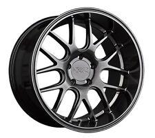 18x9 +35 XXR 530D 5x100 Chromium Black Wheels (Set of 4)