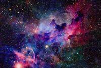 A1 | Pink Nebula Poster Art Print 60 x 90cm 180gsm Galaxy Space NASA Gift #8545