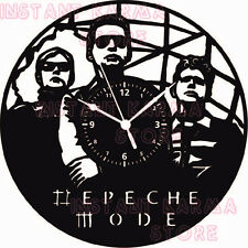 Vinyl-Schallplatte Handgefertigt Wohnkultur Wanduhr - Rock Pop -  DEPECHE MODE