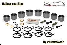 Ducati 996 S front brake caliper piston seal repair rebuild kit 1999 2000 2001