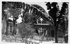 Cuernavaca Morelos Mexico birds eye view garden and ruins? real photo pc Y12028
