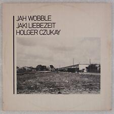 "JAH WOBBLE: Jaki Liebezeit, Holger Czukay ""How Much Are They"" Synth Pop 12"""