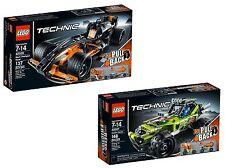 Lego Technic ® 42026 + 42027 Action Racer + Action desiertos-Buggy nuevo embalaje original New misb